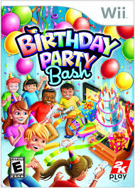 games to play for thanksgiving party amazon com birthday party bash nintendo wii take 2 video games