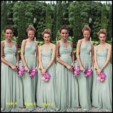 mint green bridesmaid dresses aliexpress buy chiffon bridesmaid dresses floor length