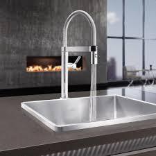 professional kitchen faucet blanco 441623 culina mini semi professional kitchen faucet 2 2 gpm