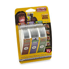 Hanging Pictures On Wall by Amazon Com Monkey Hook Picture Hanger Home And Office Pack 30 Pc