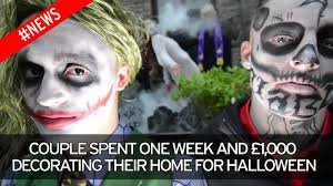 decorating home for halloween the halloween mad homeowner who has spent 1 000 and one week