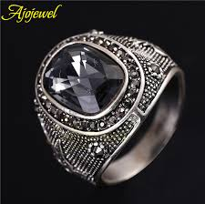 mens rings antique images Ajojewel size 8 11 5 brand new luxury man jewelry big chunky jpg