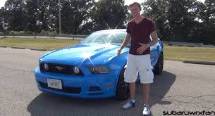 the with the blue mustang review thatdudeinblue s 2013 mustang gt