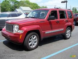 red jeep liberty 2010 2010 jeep liberty limited 4x4 in inferno red crystal pearl 150682