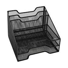 Office Depot Desk Organizers by Desktop File Organizer Mmf Steelmaster Black 8slot Vertical Steel