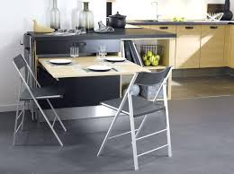 table escamotable dans meuble de cuisine table cuisine murale rabattable ikea mrsandman co