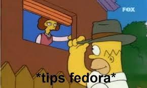 Tips Fedora Meme - tips fedora homer simpson memes