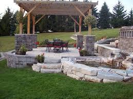 Backyard Lawn Ideas Triyae Com U003d Simple Outdoor Patio Ideas Various Design