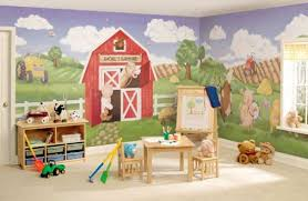 Inspiring Wall Murals For Kids Room Ultimate Home Ideas - Mural kids room