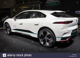 frankfurt germany sep 12 2017 new 2018 jaguar i pace concept