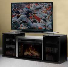 marana electric fireplace media console in black saphl 500 b