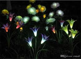Colour Changing Solar Garden Lights - set of 6 colour changing solar stake lights garden coopers of