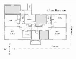 small house plans with basement best of walkout basement house