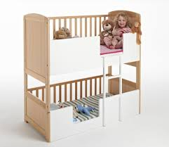 Cot Bunk Beds The Bunk Cot Company 3 In 1 Bunkcot 0 6 Yrs Beech Best Bunk