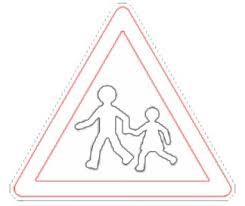 Dossier sur la sécurité routière panneaux de signalisation à colorier