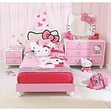 bedroom in a box amazon com hello kitty bedroom in a box kitchen dining