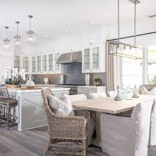 kitchen dining room lighting ideas best 25 kitchen dining combo ideas on island table