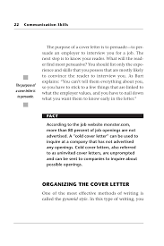 Cover Letter For Any Job Opening Communication Skills