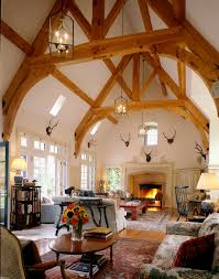 gothic revival great room in bedford ny by fairfax u0026 sammons