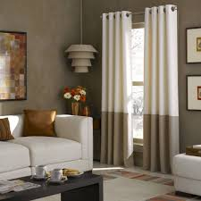 colorblocked grommet curtain panel walmart com