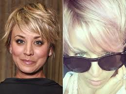why kaley cucoo cut her hair kaley cuoco dyes hair pink see her transformation people com