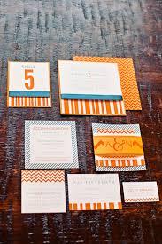 best shades of orange memorable wedding a modern orange and blue wedding