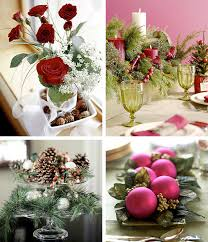 Christmas Table Decor Cheap by Christmas Table Decorations To Make At Home Best Round Candy