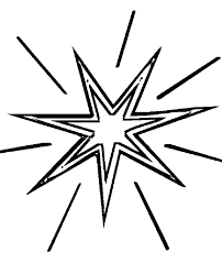 star coloring pages shining coloringstar