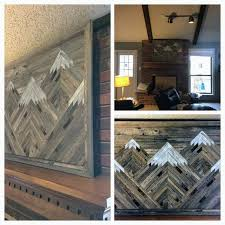 wood mountain wall 36 best mountain wall images on reclaimed wood