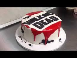 walking dead cake ideas the walking dead cake at di