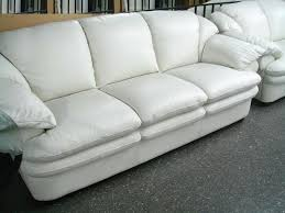 Primo Leather Sofa Living Room White Leather Sectional Sofa New Year Sale