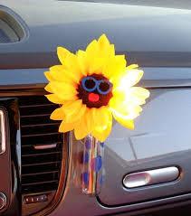 Vw Beetle Flower Vase Sunflowers With Sunglasses U2013 Bling My Bug