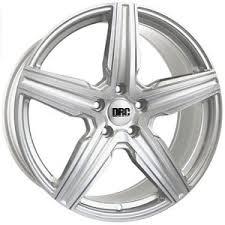 audi drc alloy wheels 18 drc dmv silver polished for audi a6 allroad