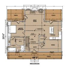 Timber Home Floor Plans Mama U0027s House Home Plan By Natural Element Homes