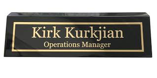 griffco supply personalized desk name plates u0026 engraved gifts