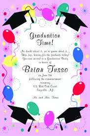 college graduation party invitations templates free printable