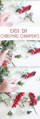 easy diy tree ornaments to make with clear ornaments