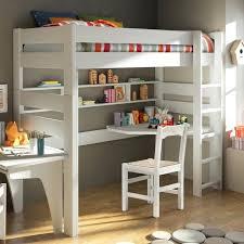 chambre enfant lit superposé etagere chambre d enfant lit mezzanine avec bureau et actagares