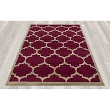 living room beautiful trellis area rug in living room red maroon