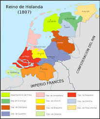 Holland Map File Map Kingdom Of Holland 1807 Es Svg Wikimedia Commons