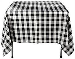 White Table Cloths Black U0026 White Tablecloths 70 X 70 Square Display