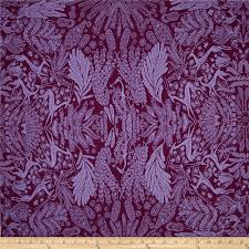 Purple Home Decor Fabric Amy Butler Bright Heart Oh Deer Plum Discount Designer Fabric