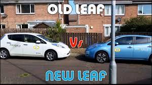 nissan leaf gen 2 review old leaf vs new leaf youtube