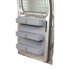 Cargo Van Shelves by Shelving Package For Full Size Van 2 1 Unit With Door Kit Cargo
