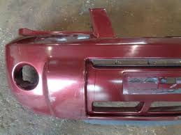 2004 2007 nissan x trail t30 facelift front bumper in royal ruby