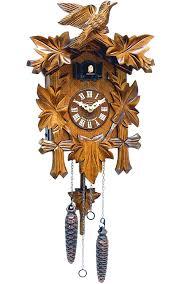 Modern Cuckoo Clock Engstler Black Forest Musical Cuckoo Clock Quartz Powered 522qm