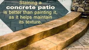 choosing the best paint for concrete patios