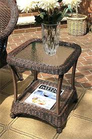 wicker end tables sale wicker end tables home design