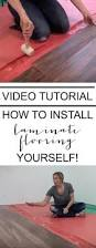 Install Laminate Flooring Video How To Install A Laminate Floor In A Basement Video Tutorial