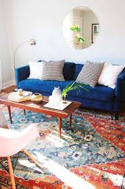 Navy Blue Sofa And Loveseat Furniture Cool Velvet Couch To Adorn Modern Living Room